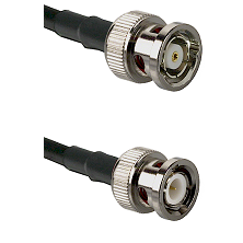 BNC Reverse Polarity Male on RG142 to BNC Male Cable Assembly