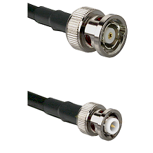 BNC Reverse Polarity Male on RG142 to MHV Male Cable Assembly