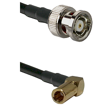 BNC Reverse Polarity Male on RG188 to SSMB Right Angle Female Cable Assembly
