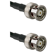 BNC Reverse Polarity Male on RG393 to BNC Reverse Polarity Male Cable Assembly