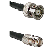 BNC Reverse Polarity Male on RG400 to TNC Female Cable Assembly