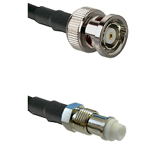 BNC Reverse Polarity Male on RG58C/U to FME Female Cable Assembly