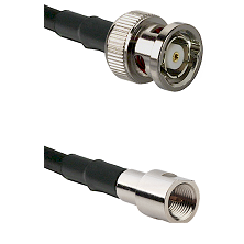 BNC Reverse Polarity Male on RG58C/U to FME Male Cable Assembly
