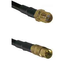 SMA Reverse Polarity Female on LMR100 to MMCX Female Cable Assembly