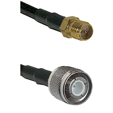 SMA Reverse Polarity Female Connector On LMR-240UF UltraFlex To HN Male Connector Coaxial Cable Asse