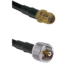 SMA Reverse Polarity Female on LMR240 Ultra Flex to UHF Male Cable Assembly