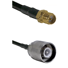 SMA Reverse Polarity Female on RG142 to SC Male Cable Assembly