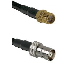 SMA Reverse Polarity Female on RG58C/U to C Female Cable Assembly