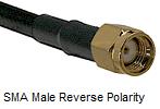SMA Reverse Polarity Male
