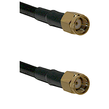 SMA Reverse Polarity Male on LMR-195-UF UltraFlex to SMA Reverse Polarity Male Coaxial Cable Assembl