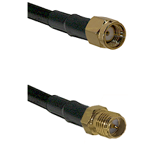 SMA Reverse Polarity Male on LMR240 Ultra Flex to SMA Reverse Polarity Female Cable Assembly