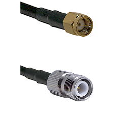 SMA Reverse Polarity Male on LMR240 Ultra Flex to TNC Reverse Polarity Female Cable Assembly
