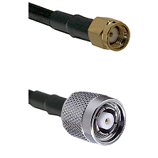 SMA Reverse Polarity Male on LMR240 Ultra Flex to TNC Reverse Polarity Male Cable Assembly