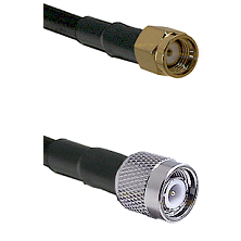 Reverse Thread SMA Male To Standard TNC Male Connectors LMR240UF Ultra Flex Custom Coaxial Cab