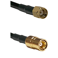 Reverse Polarity SMA Male To SMB Female Connectors RG188 Cable Assembly