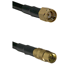 Reverse Polarity SMA Male On RG223 To MMCX Female Connectors Coaxial Cable