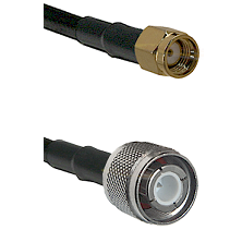 SMA Reverse Polarity Male on RG393 to HN Male Cable Assembly
