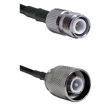 TNC Reverse Polarity Female Connector On LMR-240UF UltraFlex To SC Male Connector Coaxial Cable Asse