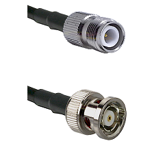 TNC Reverse Polarity Female on RG214 to BNC Reverse Polarity Male Cable Assembly