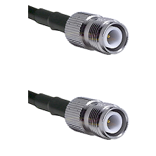 TNC Reverse Polarity Female on RG214 to TNC Reverse Polarity Female Cable Assembly