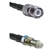 TNC Reverse Polarity Female on RG400 to FME Female Cable Assembly