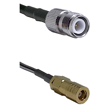 TNC Reverse Polarity Female on RG58C/U to SLB Female Cable Assembly