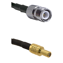 TNC Reverse Polarity Female on RG58C/U to SLB Male Cable Assembly