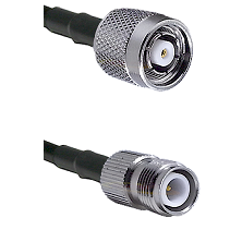 TNC Reverse Polarity Male on LMR100/U to TNC Reverse Polarity Female Cable Assembly