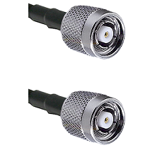 TNC Reverse Polarity Male on LMR100 to TNC Reverse Polarity Male Cable Assembly