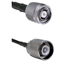 TNC Reverse Polarity Male Connector On LMR-240UF UltraFlex To SC Male Connector Coaxial Cable Assemb
