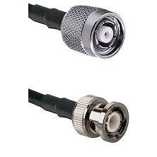 Reverse Polarity SMA Male On LMR400UF To Standard BNC Male Connectors Ultra Flex Coaxial