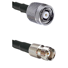 Reverse Polarity TNC Male On LMR400UF To TNC Female Connectors Ultra Flex Coaxial Cable