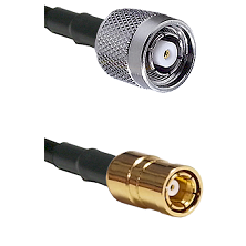 Reverse Polarity TNC Male On RG400 To SMB Female Connectors Coaxial Cable