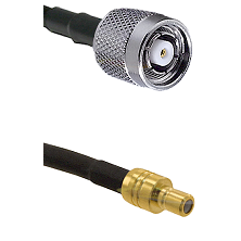 Reverse Polarity TNC Male On RG400 To SMB Male Connectors Coaxial Cable