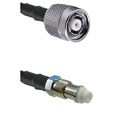 TNC Reverse Polarity Male on RG58C/U to FME Female Cable Assembly