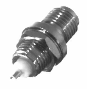 RSA-3250 RF Industries SMA, FEM BLKHD,SOLDER CUP, FRONT MNT, Nickel,Gold,T