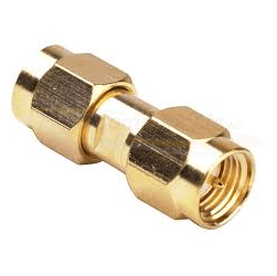 RSA-3403-1 RF Industries SMA Male To SMA Male Adapter Gold Plated 12.4GHz