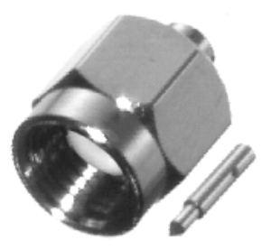 RSA-3500-1-085 RF Industries SMA MALE STRAIGHT Plug, Gold,Gold,T; FOR 085 SEMI-RIGID, CBL GRP SR1