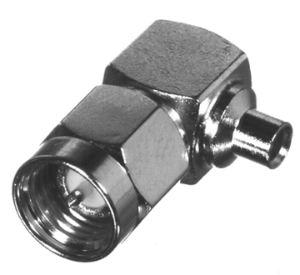 RSA-3510-085 RF Industries SMA, MALE Right Angle Plug, Nickel,Gold,T; FOR 085 SEMI-RIGID CBL, GRP S
