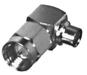 RSA-3510-1-141 RF Industries SMA, MALE Right Angle Plug, Gold,Gold,T; FOR 141 SEMI-RIGID, CBL GRP S