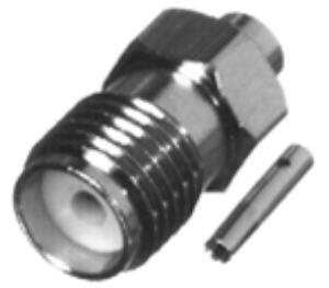 RSA-3555-SR2 RF Industries SMA, FEM, Nickel,Gold,T; FOR 141 SEMI-RIGID, CBL GRP SR2