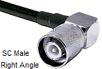 SC Right Angle Male For LMR200