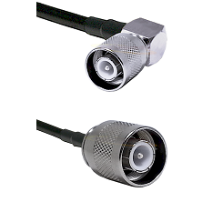 SC Right Angle Male on LMR-195-UF UltraFlex to SC Male Cable Assembly