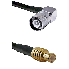 SC Right Angle Male on RG400 to MCX Male Cable Assembly