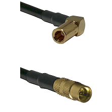 SLB Right Angle Female on LMR100 to MMCX Female Cable Assembly