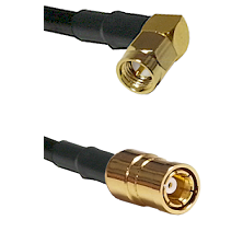 Right Angle SMA Male On RG223 To SMB Female Connectors Coaxial Cable