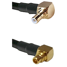 Right Angle SMB Male To Right Angle MMCX Male Connectors RG188 Cable Assembly