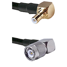 Right Angle SMB Male On RG223 To Right Angle TNC Male Connectors Coaxial Cable