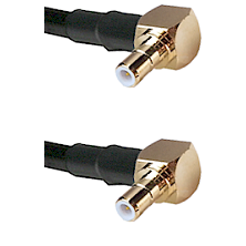 Right Angle SMB Male On RG400 To Right Angle SMB Male Connectors Coaxial Cable
