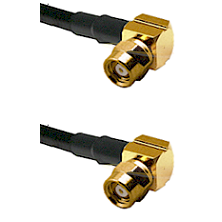 SMC Right Angle Female on Belden 83242 RG142 to SMC Right Angle Female Cable Assembly